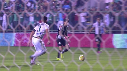 Santos pressiona, desperdiça chances e empata com Gama na Copa do Brasil