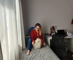 Bianca Salgueiro na casa dos pais, no Rio | Arquivo pessoal