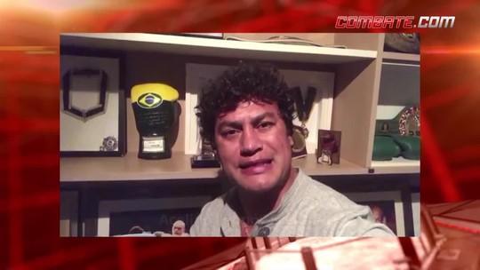 Aldo, Popó, Minotauro... Robson Conceição recebe incentivo de feras do boxe e MMA