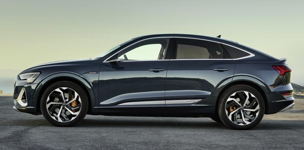 Audi E-Tron Sportback — Foto: Divulgação/Audi