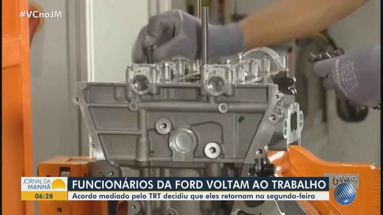 Funcionários da Ford em Camaçari voltam a trabalhar após acordo com a empresa