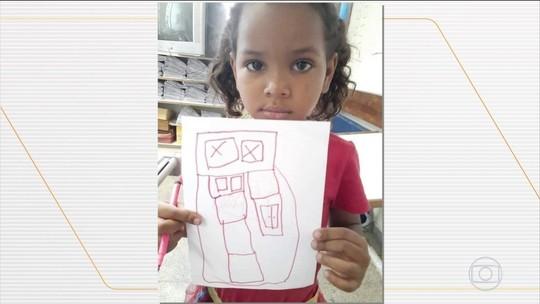 Menina de 5 anos é baleada e morta a caminho da escola no Rio