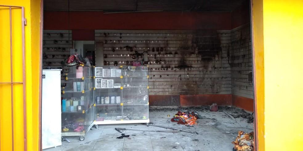 Crime aconteceu no estabelecimento comercial no bairro Parque Vista Alegre em Campinas (SP) — Foto: Gustavo Porto/EPTV