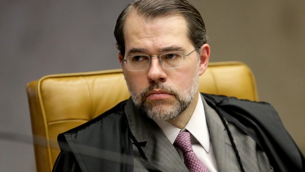 O ministro do Supremo Tribunal Federal (STF), Dias Toffoli, durante sessão (Foto: Fellipe Sampaio /SCO/STF )