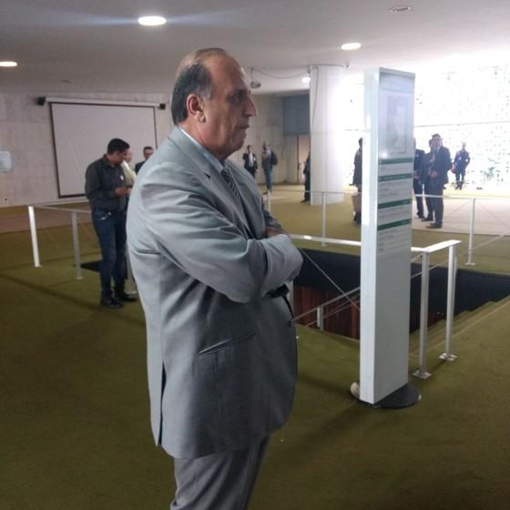 O governador do Rio de Janeiro, Luiz Fernando Pezão (Foto: Nonato Viegas)
