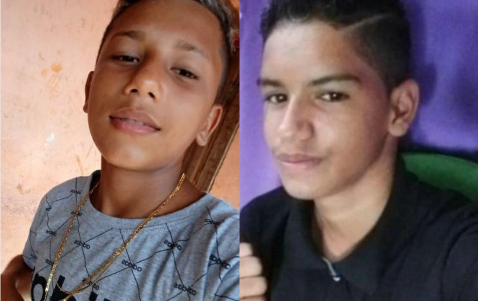 Fabrício Oliveira Barbosa e Renato Siqueira de Jesus estão desaparecidos — Foto: Reprodução