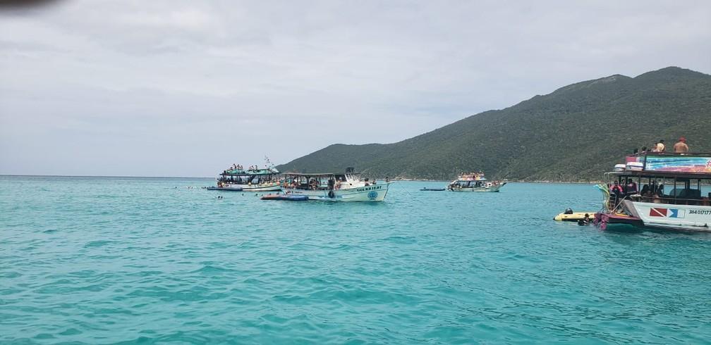 ICMBio vai aumentar fiscalização de embarcações de outras localidades que estão explorando comercialmente a Resex em Arraial do Cabo — Foto: Resex