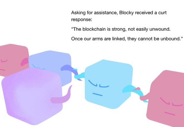 A Place in the Blockchain, livro do programador Brett Biery (Foto: Reprodução)
