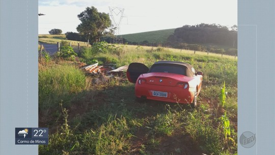 Carro de luxo usado por casal em homicídio de vendedor de loja de tintas é encontrado