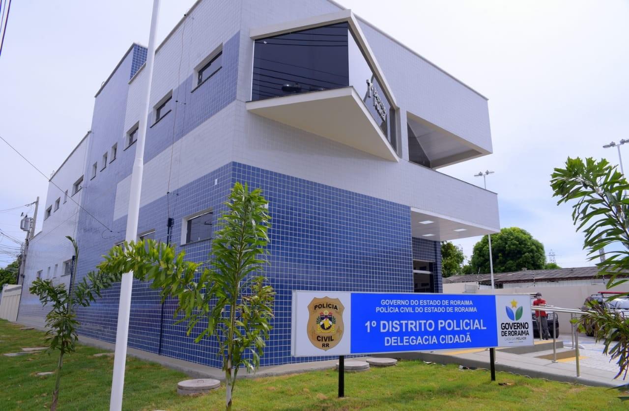 Após sete anos em obras governo do entrega prédio do 1º DP, no Centro de Boa Vista