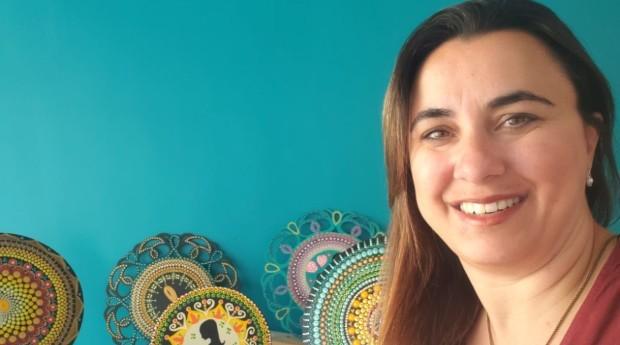 Giovana Pepino, fundadora da Vida em Cores Mandalas (Foto: Jornal de Negócios do Sebrae-SP)