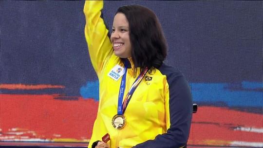 É tetra! Edênia Garcia conquista 4º ouro e Daniel Dias chega à 38ª medalha em mundiais