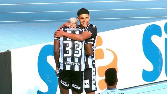Apesar de contrato no fim, Botafogo confia em boa relação com agente para renovar com Luis Henrique