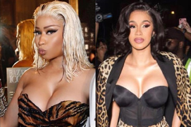 Nicki Minaj e Cardi B (Foto: Reprodução/Instagram)