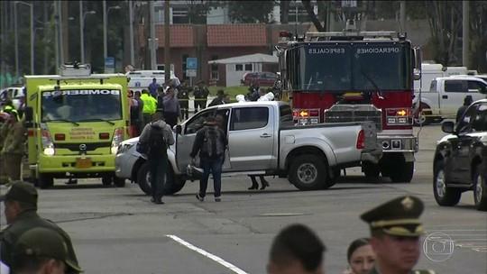 Nº de mortos no ataque com carro-bomba na Colômbia vai a 21