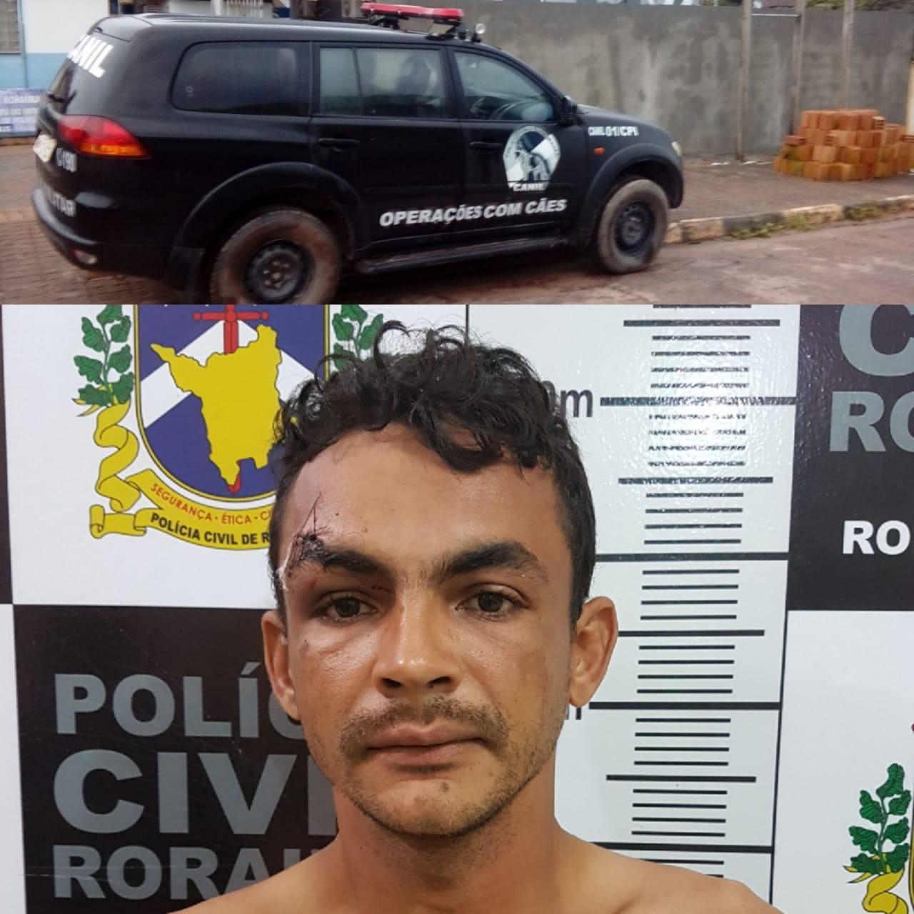 Homem é preso por feminicídio após atacar esposa com golpes de faca no Sul de RR - Notícias - Plantão Diário