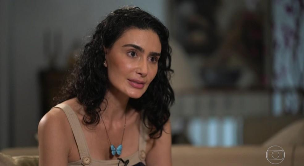 df915b64d ... Atriz Cristiane Machado revelou com exclusividade ao Fantástico as  agressões em série que sofreu do marido
