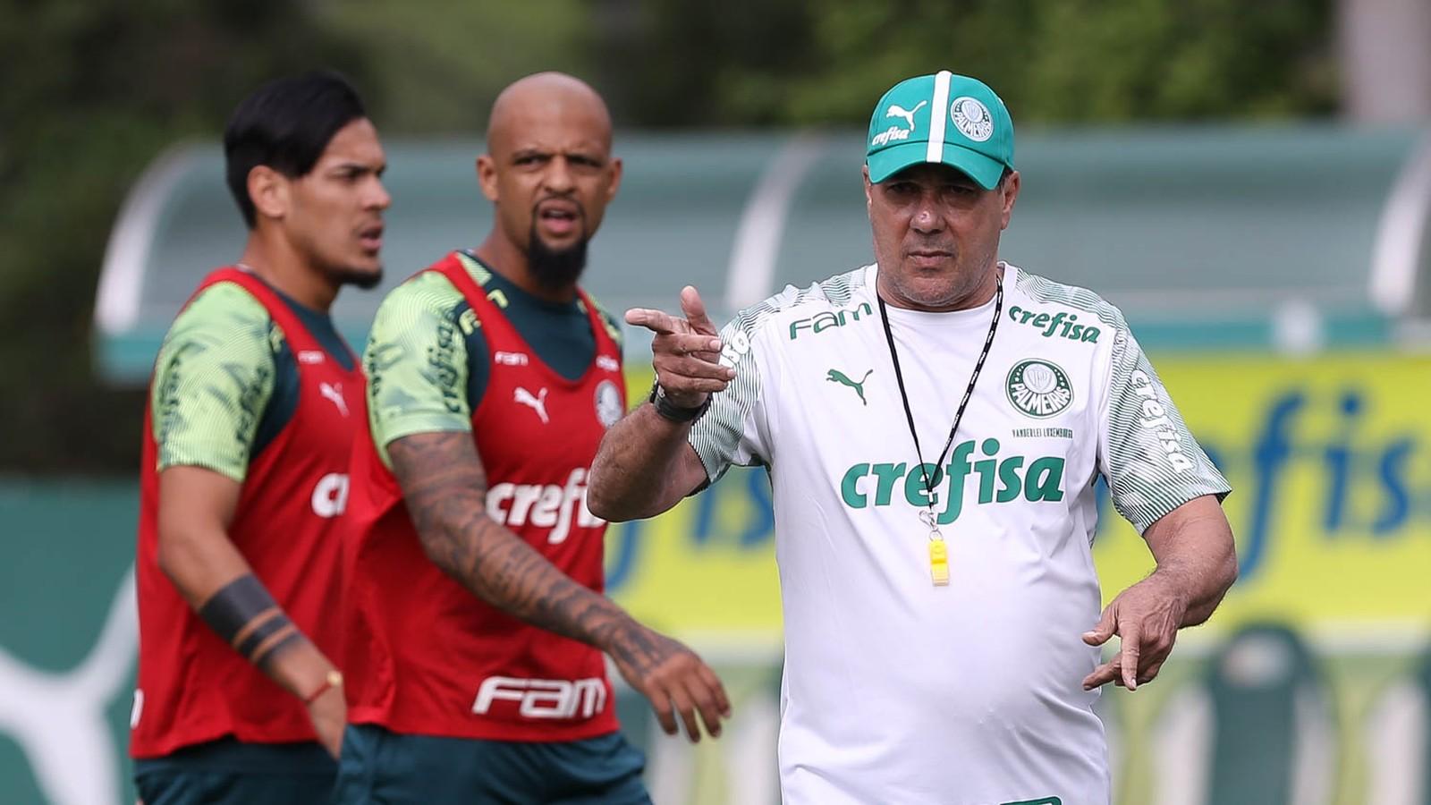 Escalação do Palmeiras: Luxa confirma a equipe titular para estreia no Campeonato Paulista