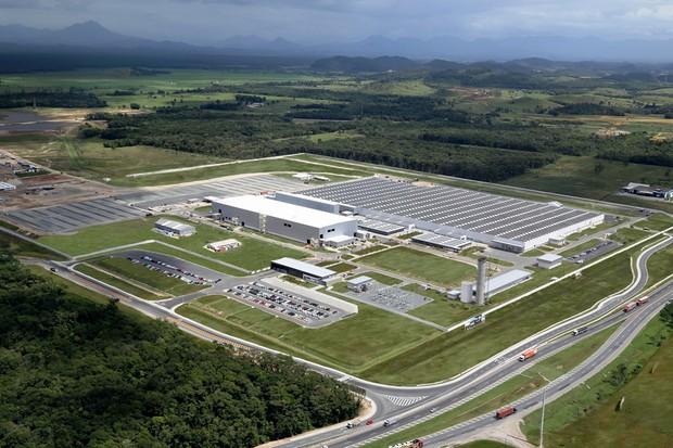 Fábrica da BMW em Araquari (SC) (Foto: Divulgação)
