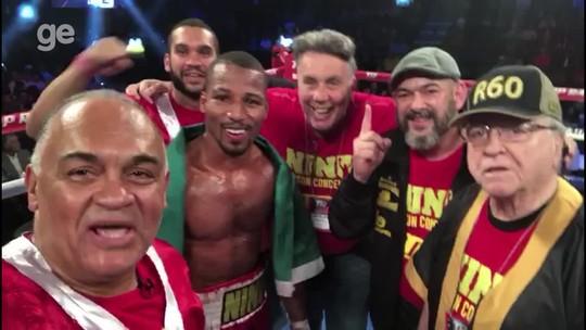 Embalado com oito vitórias, Robson Conceição volta a lutar em agosto nos EUA