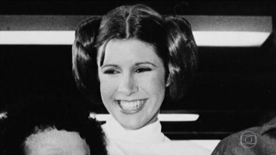 Morre a atriz Carrie Fisher, que deu vida à princesa Leia em 'Star Wars'