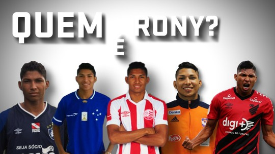 Quem é Rony: conheça a história do atacante, destaque do Athletico, em dez momentos