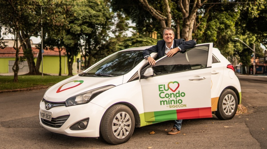Marcelo Duarte, co-fundador da Eu Amo Condomínios (Foto: Divulgação)