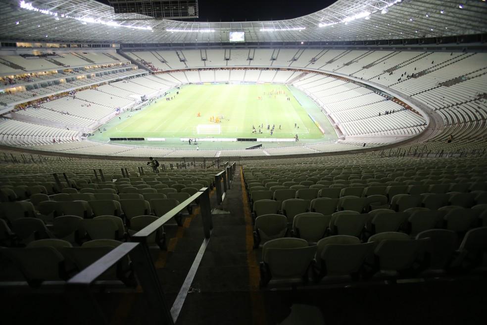 Arena Castelão — Foto: Natinho Rodrigues/Agência Diário