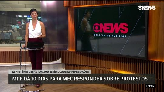 MPF dá 10 dias para MEC responder sobre protestos