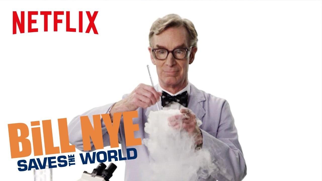 Bill Nye traz a ciência ao público na terceira temporada de Bill Nye Saves the World (Foto: Divulgação)