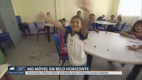 MG Móvel conhece o Projeto Providência, em Belo Horizonte