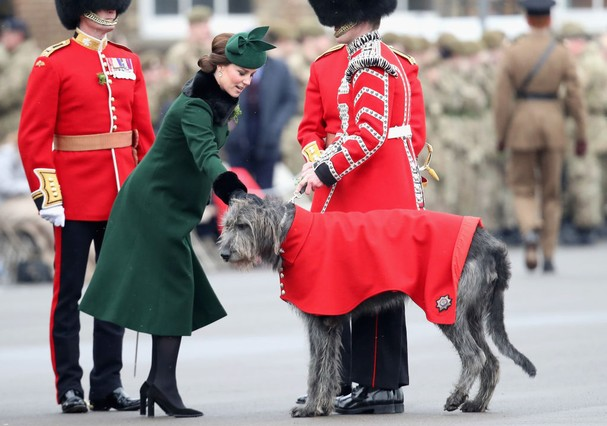 Kate Middleton no St. patrick's Day (Foto: Getty Images)