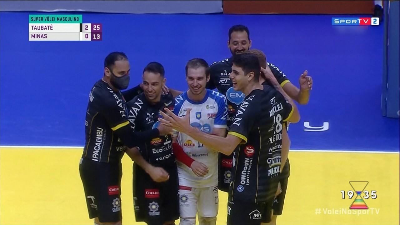 Vôlei: Taubaté pode conquistar primeiro título da temporada