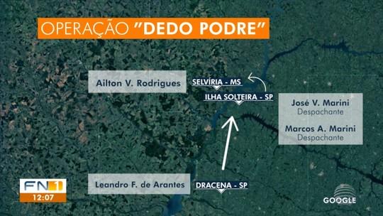 Operação Dedo Podre prende envolvidos em transferência de pontos e renovação ilícitas de CNH