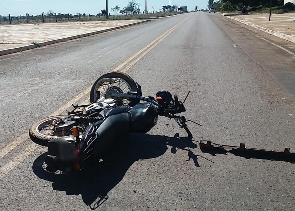-  Acidente com vítima fatal aconteceu na RO-383  Foto: Cacoal News/ Arquivo pessoal