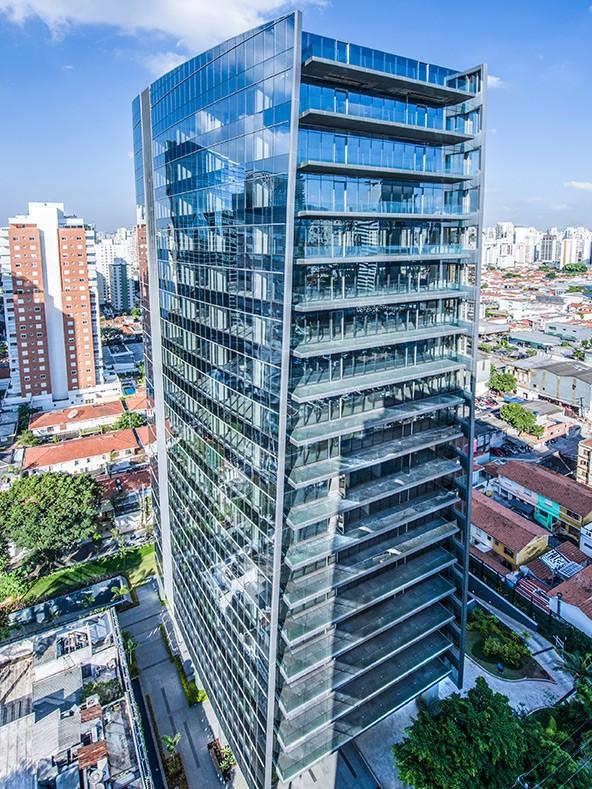 Prédio Vista Faria Lima da GTIS Partners está à venda (Foto: Divulgação)