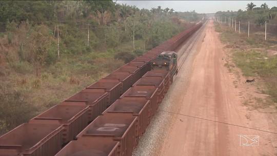 Polícia realiza operação em combate roubo de combustível e grãos de trens do MA