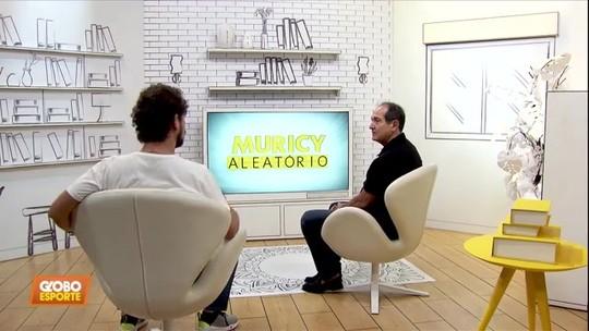 Muricy (cada dia mais) Aleatório: comentarista se diverte com vídeos bizarros e brinca com Neymar