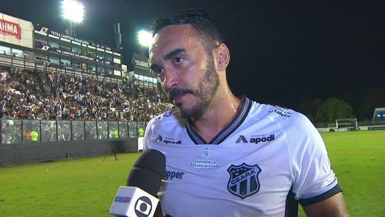 """Tiago Alves valoriza empate contra o Vasco: """"esse pontinho vai valer a pena no fim"""""""