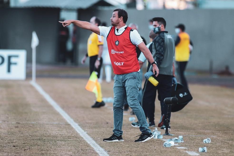 Técnico Felipe Conceição, do Remo — Foto: Samara Miranda/Ascom Remo