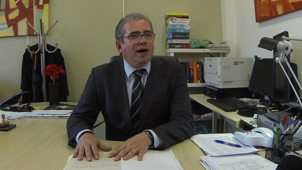 Promotor José Carlos Blat — Foto: Reprodução/GloboNews