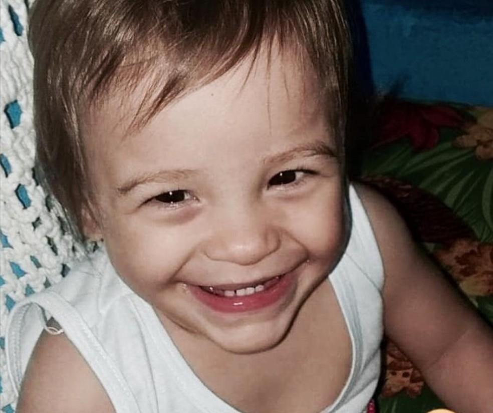 A bebê Ísis Helena, de 1 ano e 10 meses, desaparecida em Itapira. — Foto: Arquivo pessoal