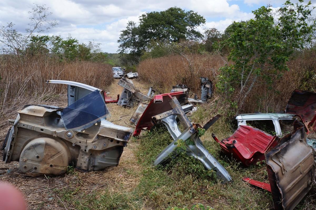 Desmanche de veículos é descoberto pela polícia em Caruaru