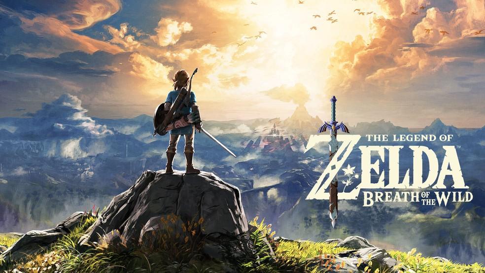 The Legend of Zelda: Breath of the Wild foi o grande sucesso de lançamento do Nintendo Switch em 2017 — Foto: Divulgação/Nintendo