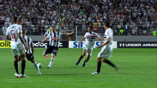 Réver alcança 200ª partida pelo Atlético-MG e encara empate como lição para sequência