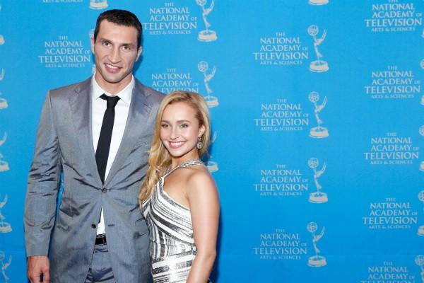 Hayden Panettiere e seu marido, o boxeador ucraniano Wladimir Klitschko (Foto: Getty Images)