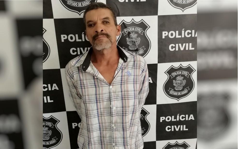 Telmo foi preso e, coforme o delegado, confessou o crime (Foto: Polícia Civil/Divulgação)