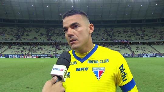 Felipe Alves lamenta queda de rendimento em derrota para o Inter
