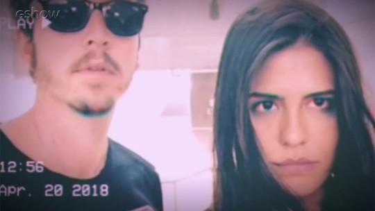 Wagner Santisteban relembra viagem especial com Antonia Morais e elogia vídeo produzido pela namorada; assista!