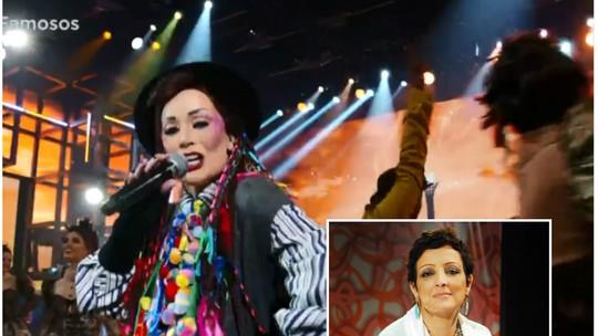 Dani Winits dedica apresentação no 'Show dos Famosos' à atriz Betty Lago: 'Te amo além do que qualquer canção possa expressar'